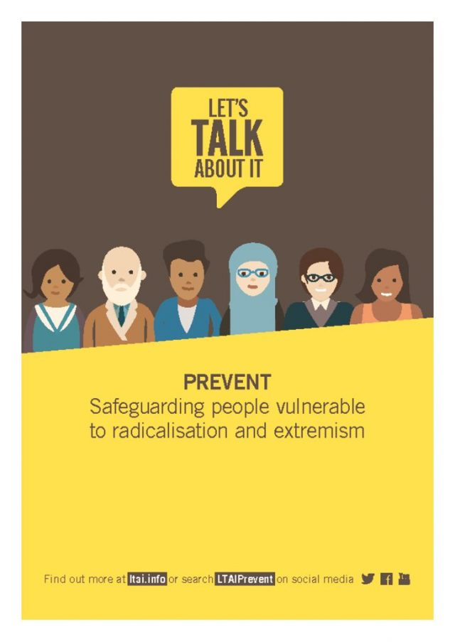 thumbnail of Lets Talk About it – Prevent Leaflet