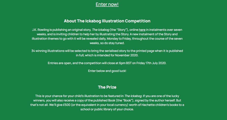 ickabog competition