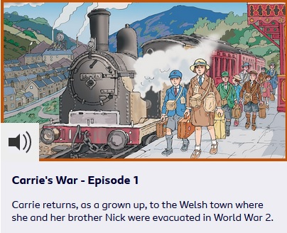 Carrie's War BBC Resources